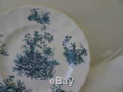 Johnson Bros. Pastorale Toile De Jouy-16 Piece Set-china-england-pat #168032