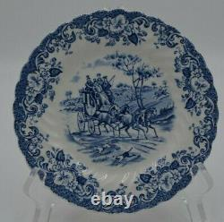 Johnson Brothers China England Ironstone Hunting Country Set of 11 Dessert Plate