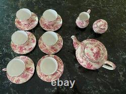 Leonardo Canziani Vintage Fine Bone China Tea Set 15 pieces Made in England