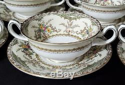 MINTON CHATHAM 70 pc Porcelain China Service for 8 Dinnerware Set England