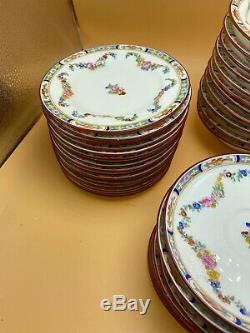 MINTON ENGLISH BONE CHINA EST. 1793 ENGLAND DINNER SET with extra's