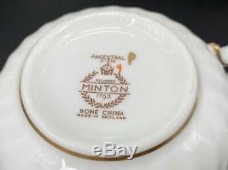 Minton Ancestral 5 Piece Plate Settings x 4 Bone China England 20 Pieces