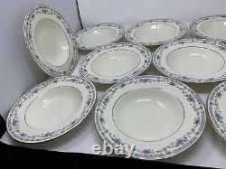 Minton Bone China Bellemeade Set Of 12 Soup Bowls England