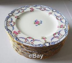 Minton China England Luncheon Plate Set Of 11