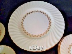 Minton Gold Cheviot Bone China England 4 Place settings of 5 (20 pieces)
