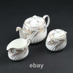 Minton Golden Fern China Dinnerware, This set includes 75 pieces