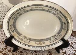 Minton -PENROSE FINE BONE CHINA ENGLAND- TABLEWARE SET- 38 Pieces
