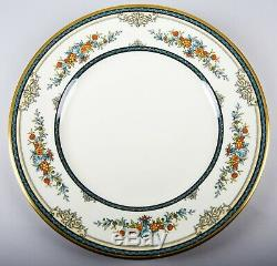 Minton Stanwood Gold Dinner Plates Set of 6 Vintage Fine Bone China England