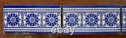 Mintons China Works Antique Border Tiles Set=5 England