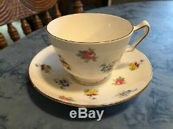 Mixed Lot Of 11 Vintage Teacup Saucer Sets Bone China Collection Made In England