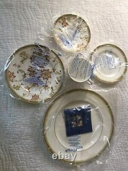 NIB Wedgewood Oberon Leigh Accent Made in England 5 Piece Set China
