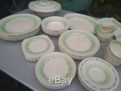 Newhall Hanley England 55 piece china dinner set