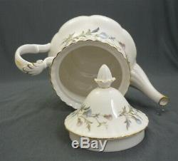 Nice Royal Albert England Brigadoon Bone China 24 Piece Tea Set Service For 6