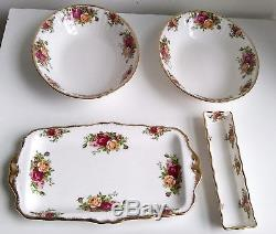 Old Country Roses Royal Albert Bone China England 19 Piece Set