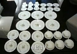 PARAGON Fine Bone China Dinnerware SERVICE for 6 FLORAL Design 42 PC Set England