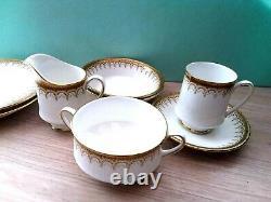 Paragon Fine Bone China Athena Tea-Coffee Set her Majesty Queen Pottery England