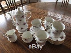 Princess House Hammersley Fine Bone China Tea Set Spode England