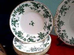 RARE George Jones Swansea Bone China Pottery Tea Set Bird Collectible England