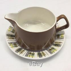 RARE LORD NELSON Tobermory Mid Century Danish Modern China Set Pottery England