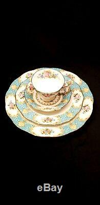 ROYAL ALBERT LADY ASCOT 4 PIECE SET Bone China made in England