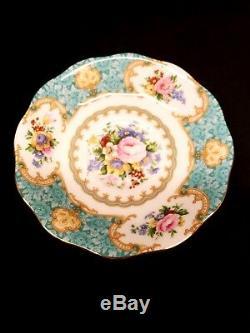 ROYAL ALBERT LADY ASCOT 4 PIECE SET Bone China made in England