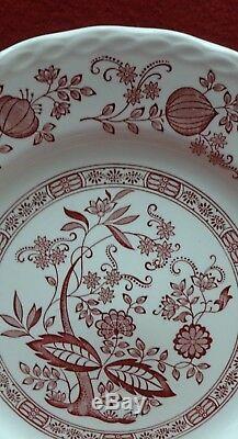 ROYAL ART England china PINK ONION pattern 42-piece SET SERVICE for 9+