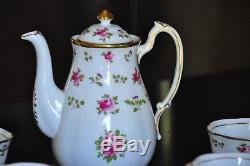 ROYAL CHELSEA BRITANNIA PATTERN BONE CHINA MADE IN ENGLAND 9 Tea Party Set