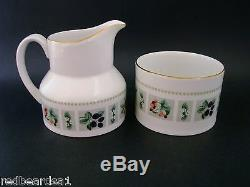 ROYAL DOULTON TAPESTRY COFFEE SET for 8 Vintage English China Retro c1960s