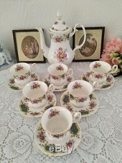 Royal Albert Berkeley Fine Bone China England Tea/Coffee set Porcelain