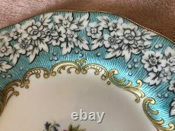 Royal Albert Bone China England Enchantment 1950 7 inch Dessert Plates Set of 12