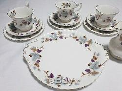 Royal Albert Bone China England LORRAINE Eleven (11) Piece Tea Set ORP $900