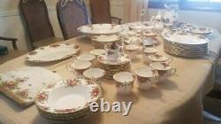 Royal Albert Bone China Set England 72 Piece Set