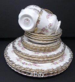 Royal Albert Dimity Rose 4-5 Piece Place Setting England Bone China