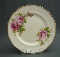 Royal Albert England American Beauty Bone China 23 Piece Tea Set Service for Six