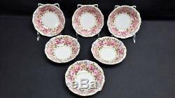 Royal Albert England Bone China Serena Set of 11 Fruit Dessert Sauce Bowls