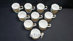 Royal Albert England Bone China Tea Rose Yellow Set of 10 Mugs