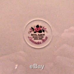 Royal Albert England Lavender Rose Bone China 8 place setting
