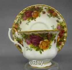 Royal Albert England Old Country Roses Bone China 23 Piece Tea Set Service for 6