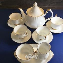 Royal Albert England VAL D'OR Bone China Tea SET
