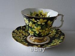 Royal Albert Flora Series Tea Cup & Saucer Set of 5 Bone China England