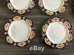 Royal Albert Heirloom Bone China Dinner Plates England 10 1/4 Set Of 6