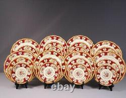 Royal Albert LADY HAMILTON Bone China Dinner set for 8 Salad Bread Plat England