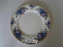 Royal Albert Moonlight Rose Salad Plates Set Of 7 plates Bone China England