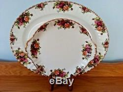 Royal Albert Old Country Roses Bone China England 36 Piece Coffee And Tea Set