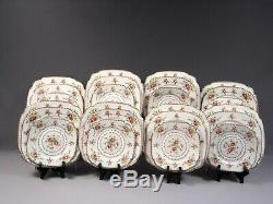 Royal Albert Petit Point Bone China Dinner Set Salad Bread Plates England