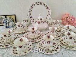 Royal Albert Sweet Violets England Tea/Coffee Set Bone China England