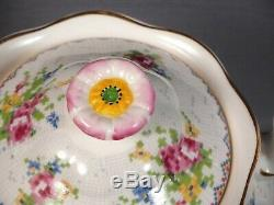 Royal Albert Tea Coffee Set Teapot Creamer Sugar Bowl Bone China England