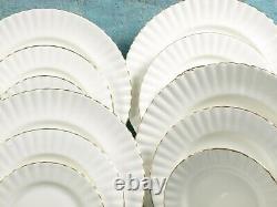 Royal Albert Val D'Or Dinner Set Bread Salad Plates Bone China England Gold
