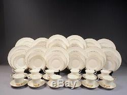 Royal Albert Val D'Or Dinner Set Plates Cup Saucer Bone China England 60 pcs