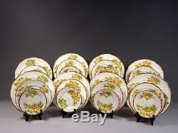 Royal Albert Yellow Tea Rose Bone China Dinner Set Plates Salad Bread England